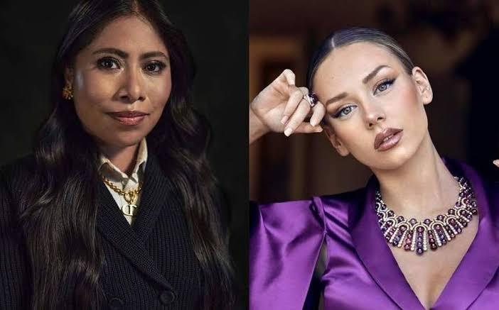 Yalitza Aparicio y Ester Expósito