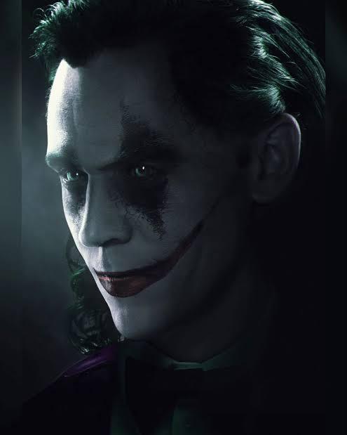Tom Hiddleston como el Joker