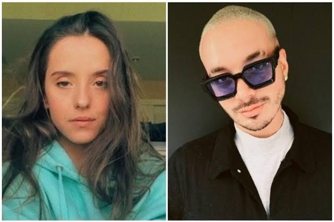 Evaluna Montaner y J Balvin