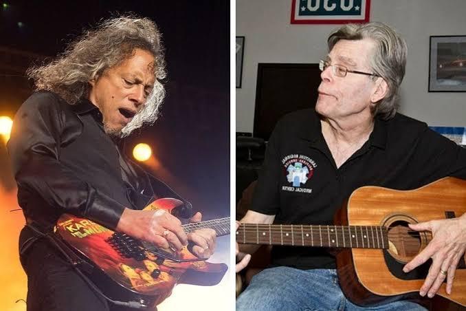 Kirk Hammett y Stephen King