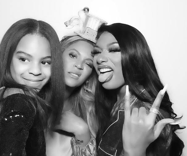 Beyoncé y Megan Thee Stallion