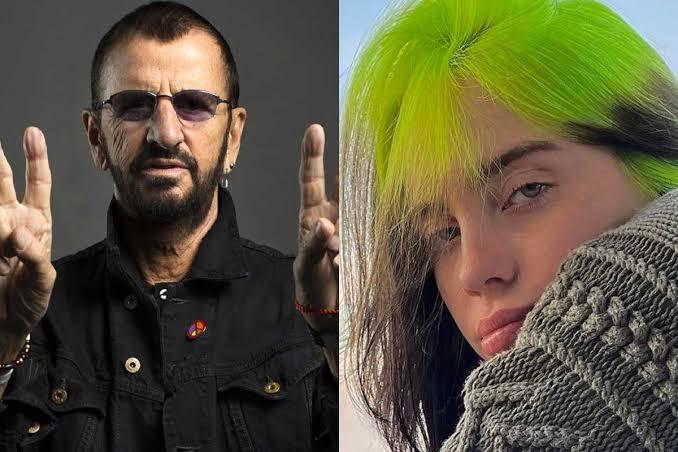 Ringo Starr y Billie Eilish