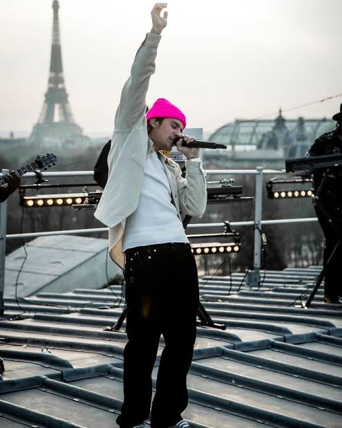 Justin Bieber 'Live From Paris'