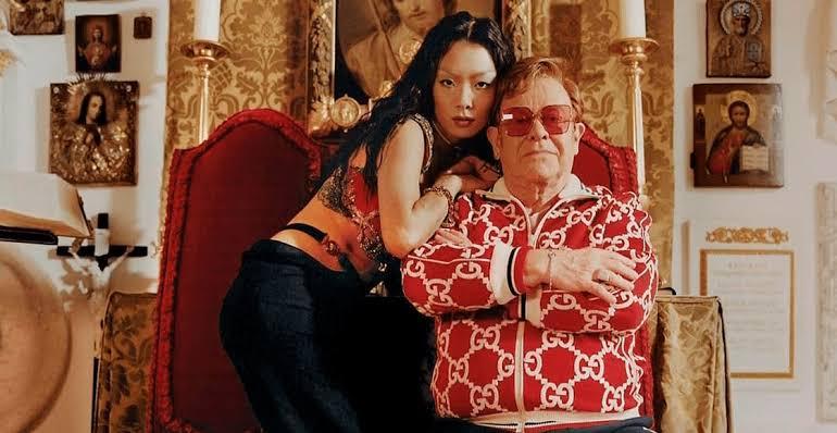 Elton John y Rina Sawayama