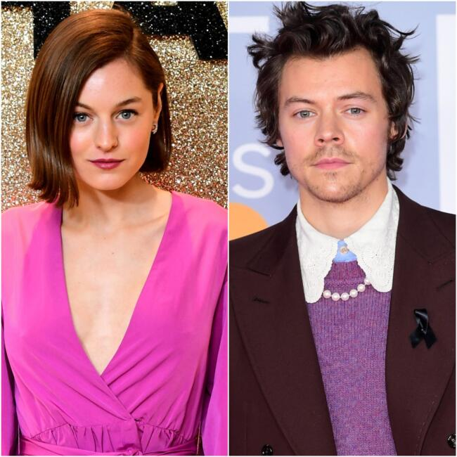 Harry Styles y Emma Corring