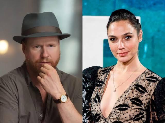 Joss Whedon y Gal Gadot