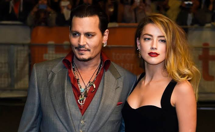 Johnny Depp y su exesposa Amber Heard