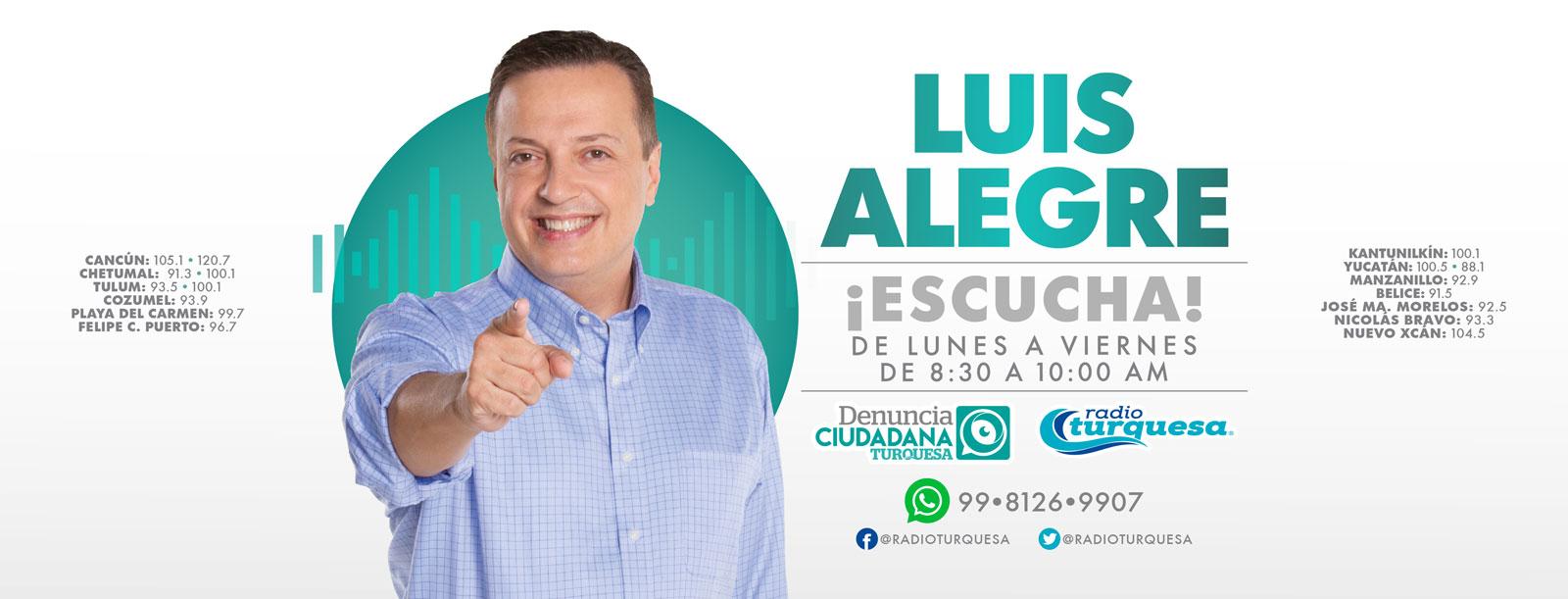 Luis Alegre Salazar Denuncia Ciudadana